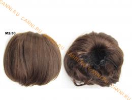 """Искусственные термостойкие волосы - Шиньон """"Бабетта"""" #M2/30, вес 80 гр"""