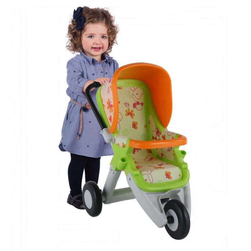Коляска для кукол 3-х колёсная Полесье 48141
