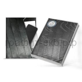 Книжка зап.180х240 Феникс+ Синтетическая бумага черная 120л. в точку 50332