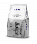 Sirius Platinum Корм для взрослых собак малых пород Индейка с овощами, 3 кг