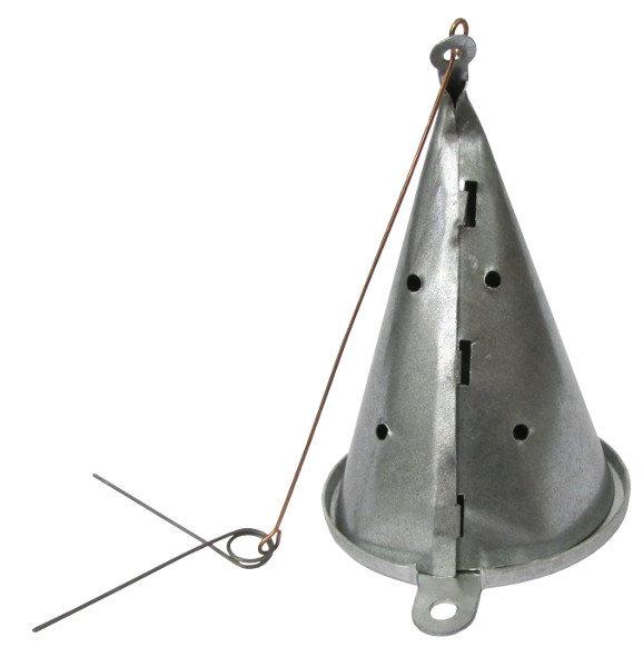 Кормушка зимняя ЧР большая 250 мл. оцинкованная сталь