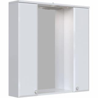 Зеркальный шкаф Sanstar Селена 80 с подсветкой