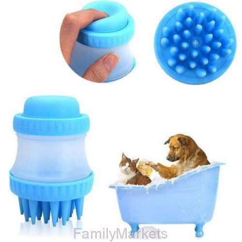 Щетка для животных Cleaning Device The Gentle Dog Washer