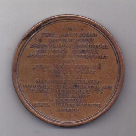 медаль 1731 года Брауншвейг-Люнебург Германия
