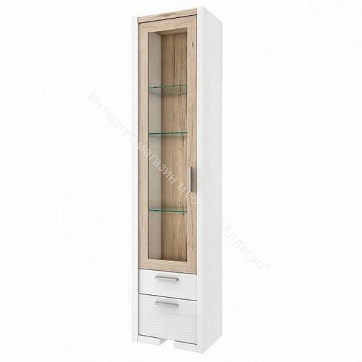 "Шкаф-витрина ""Венето"" СТЛ.266.04 (Дуб санремо/Белый)"