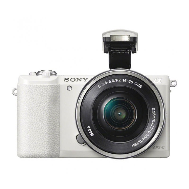 Sony Alpha A5100 Kit 16-50 mm F/3.5-5.6 E OSS PZ White