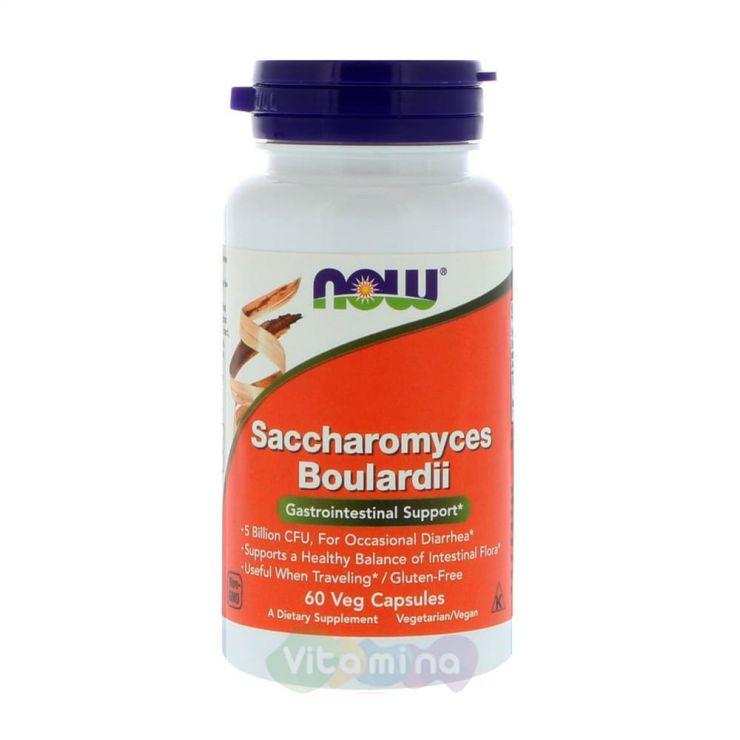 Сахаромицеты Буларди (Saccharomyces Boulardii), 60 капс.