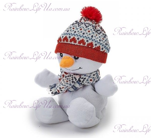"""Игрушка грелка снеговик мини """"Warmies"""""""