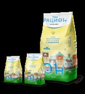 Наш Рацион Сухой корм для взрослых кошек с индейкой, 0.4 кг