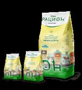 """Наш Рацион Сухой корм для взрослых кошек """"Мясное ассорти"""", 10 кг"""