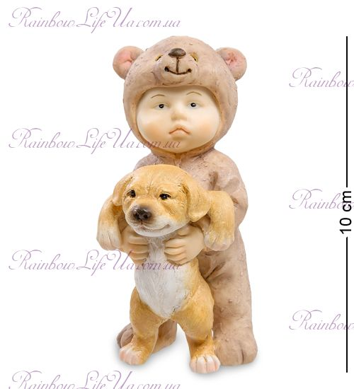 """Фигурка малыш - мишка с собачкой """"ED"""""""