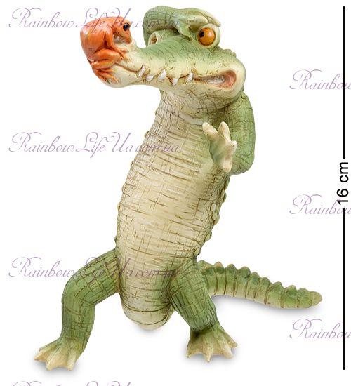 "Фигурка крокодил и друг ""ED"""
