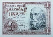 Испания 1 песета 1953 ПРЕСС