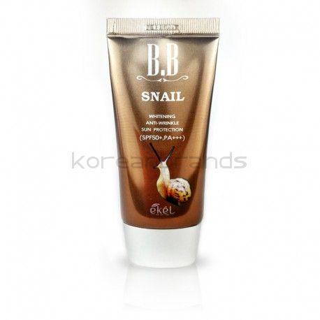 Ekel Snail BB Cream SPF50+ PA+++