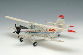 Сборная модель транспортный самолет Ан-2 пассажирский самолет 1:74