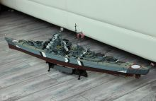 Сборная модель линкор Тирпиц корабль модель Германия Второй мировой войны 1:700