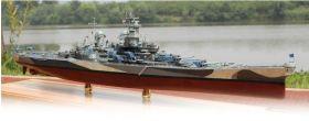 Сборная модель крейсер США Миссури линкор военный корабль 1:700