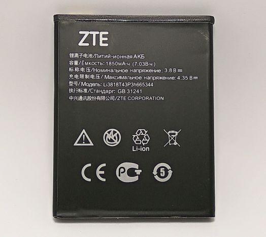 Аккумулятор ZTE Blade GF3 (T320) (Li3818T43P3h665344) Оригинал