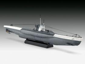 Сборная модель U-571 средняя немецкая подводная лодка  1:144