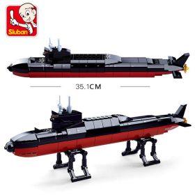 Конструктор Атомная подводная лодка модель Lego реплика 193 деталей