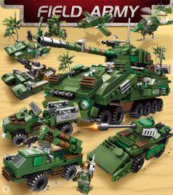 Конструктор Армия военная техника 24 в 1  Lego реплика 820 деталей