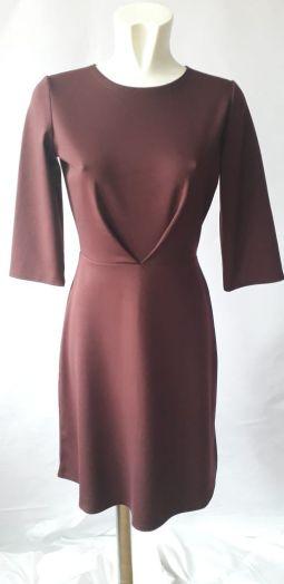 Платье женское прямое с короткими рукавами