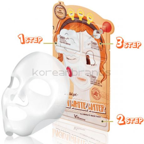 Elizavecca Milky Piggy AQUA WHITE WATER  ILLUMINATE  MASK PACK