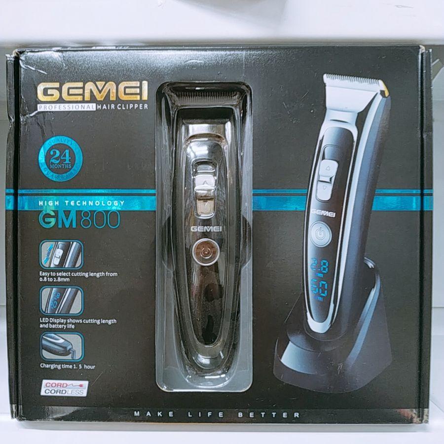 Машинка для стрижки профессиональная GEMEI GM800