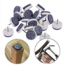 Набойки для деревянных ножек стульев, 20 шт