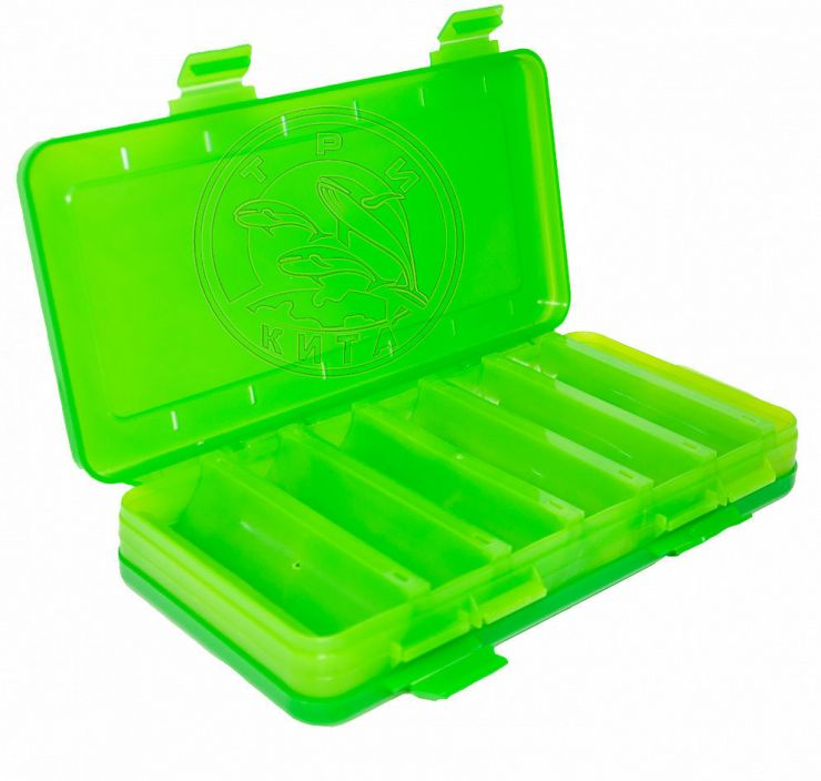 Коробка для воблеров и балансиров ВБ-2 зеленая