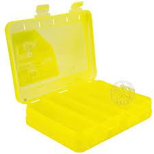 Коробка для воблеров и балансиров ВБ-3 желтая