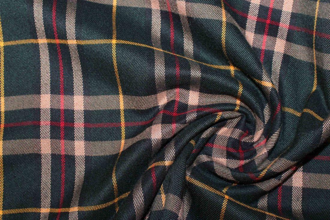 Костюмная ткань VT-10253/D3/green/beige