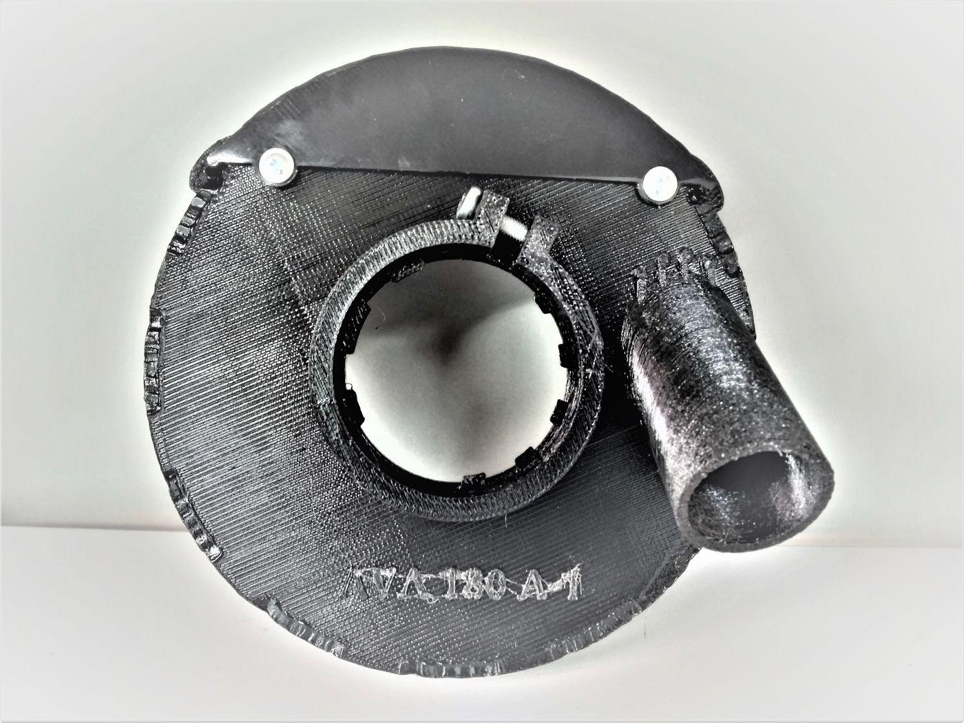 Кожух для болгарки для шлифовки, резки и штробления AVA 180A-1PRO