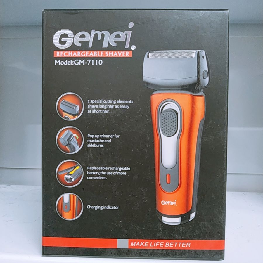 Электробритва аккумуляторная  GEMEI GM7110