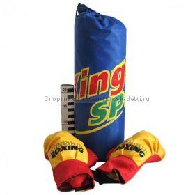 Боксёрский набор груша+перчатки