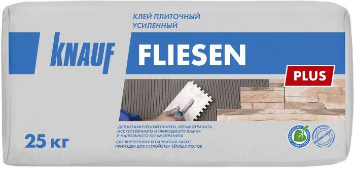 Клей для плитки KNAUF Флизен Плюс усиленный, 25 кг