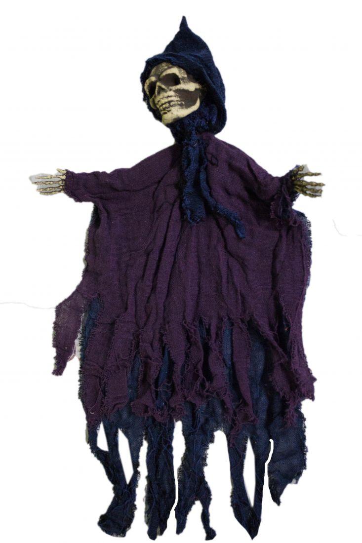 Подвесная декорация Скелет в плаще
