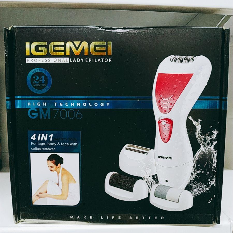 Эпилятор 4 в 1 Igemei GM 7006