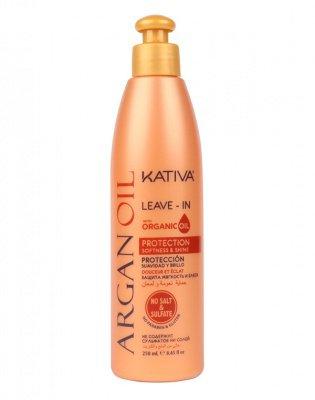 Концентрат для волос с маслом Арганы оживляющий ARGAN OIL Kativa, 250 мл.