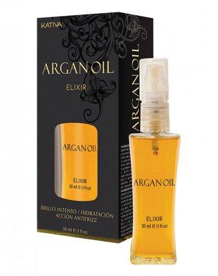 Масло для волос защитное «Эликсир Арганы» ARGAN OIL Kativa, 30 мл.