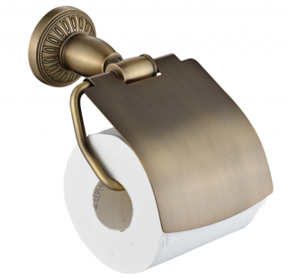 Держатель для туалетной бумаги  Savol S-006651C.бронза