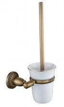 Туалетный ёршик с настенный Savol S-006694C.бронза
