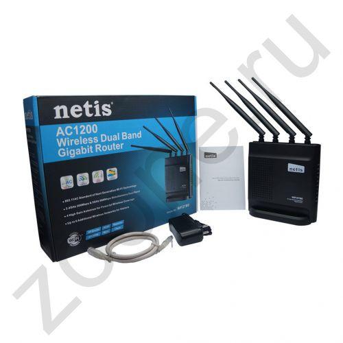 WI-FI точка доступа 2.4G/5G 1200 MB/S WF2780 NETIS (скидка 10 процентов)