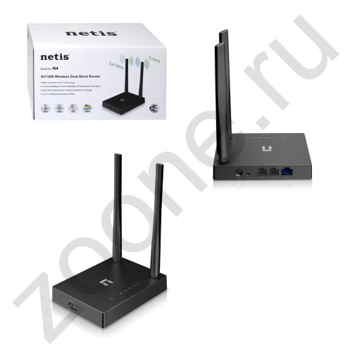 WI-FI точка доступа 1200MB/S DUAL BAND N4 NETIS (скидка 20 процентов)