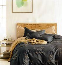 """Комплект постельного белья """"KARNA"""" Сатин DELUX  GANN 1.5-спальный   Арт.469/3"""