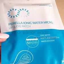Perella Ionic Water Micro Lip & Eye Patch