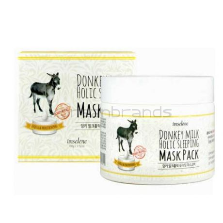 Imselene Donkey Milk Holic Sleeping Mask Pack, 100мл