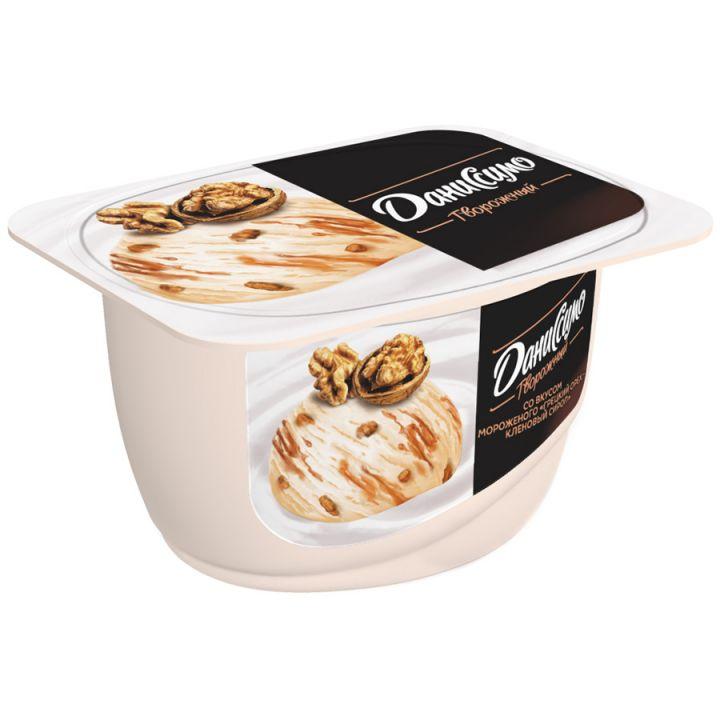 Продукт творожный Даниссимо морож-грецкий орех-кленовый сироп 5,9 % 130г