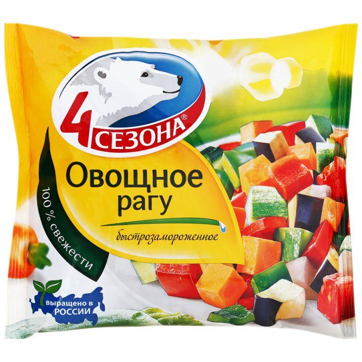 Овощное рагу 400г 4 Сезона