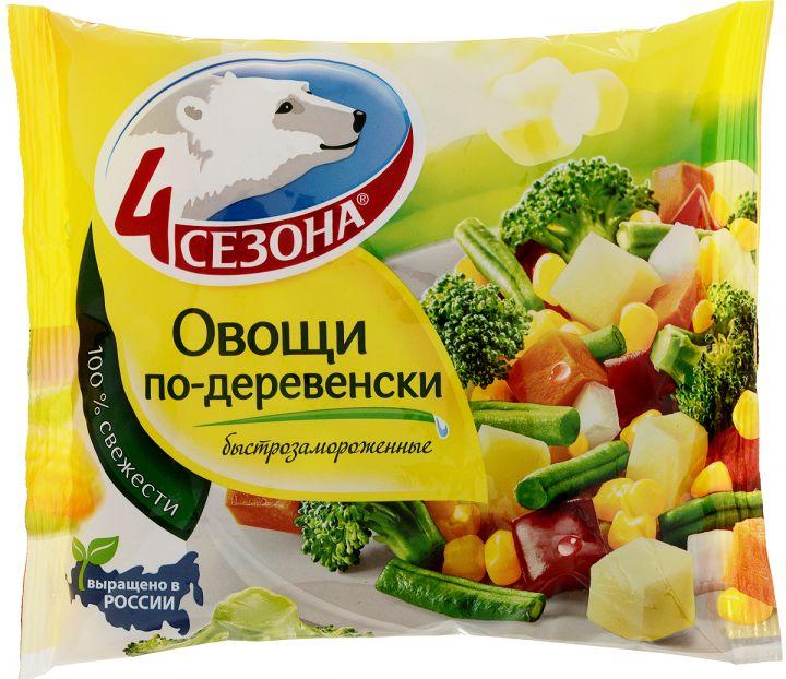 Овощи по-деревенски 400г 4 Сезона